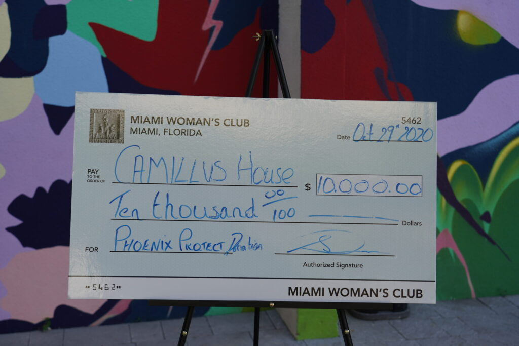 Photo: Women's Club Check Presentation