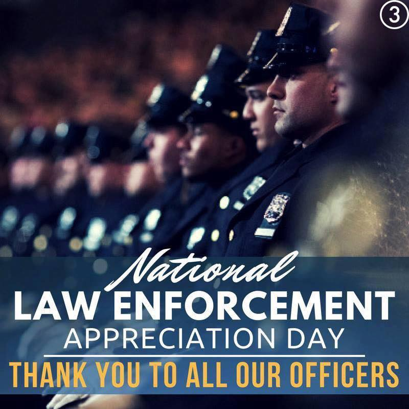 Graphic: National Law Enforcement Appreciation Day