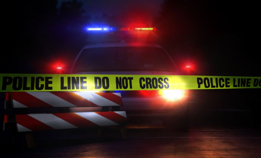 Photo: Crime Scene Header