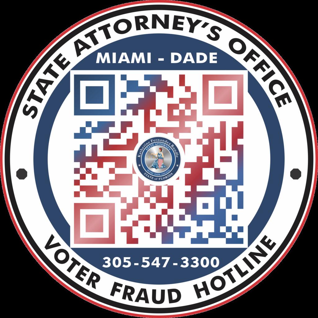 QR Code: Voter Fraud Hotline