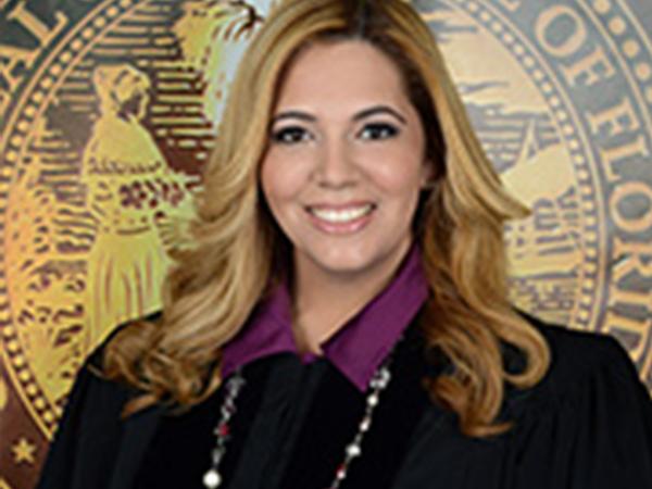 Photo: Judge Victoria Ferrer